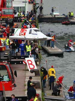 #13 class 3 F2boat.com: Frode Sundsdal, Dominick Thomas, Baptiste Philippe, Jean-Baptiste Thomas