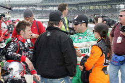 Marco Andretti, Andretti Green Racing, Tony Kanaan, Andretti Green Racing and Danica Patrick, Andretti Green Racing with Michael Andretti