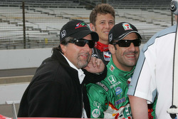 Michael Andretti and Tony Kanaan, Andretti Green Racing