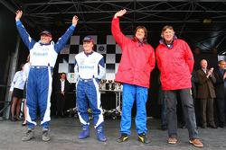 Third place #16 class 3 Tech Motor Racing: Marc Roig, Jean Pierre Bersoult, Jean-Vital Deguisne, Cédric Deguisne