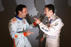 Darren Turner and Nicolas Minassian