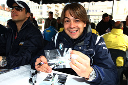 Augusto Farfus, BMW Team Germany, BMW 320si, autograph session
