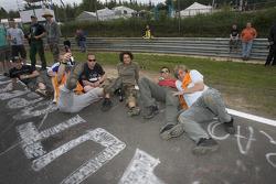 Crazy fans at Brünnchen