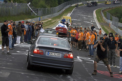 Car parade at Brünnchen