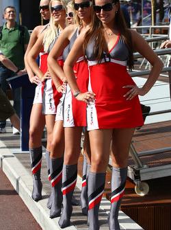 Meisjes in Monaco