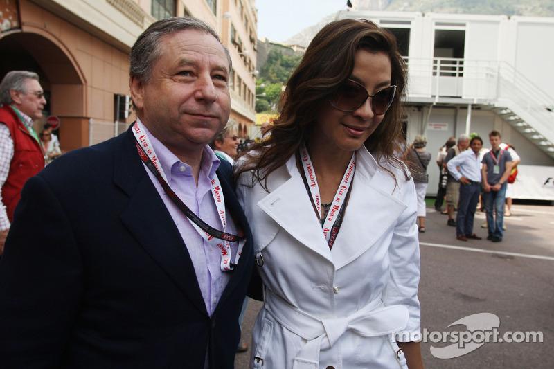 Jean Todt, Scuderia Ferrari, Ferrari CEO and Michelle Yeoh wife of Jean Todt