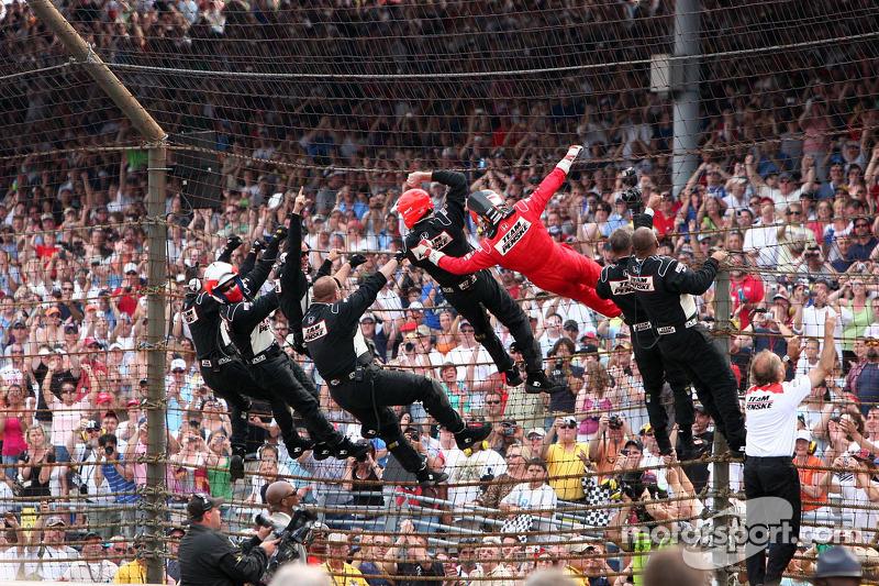 2009: третья победа в Indy 500