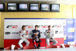 Andy Soucek, Robert Wickens and Tobias Hegewald