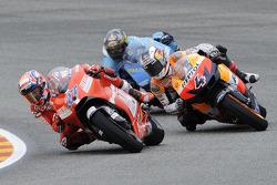 Nicky Hayden et Andrea Dovizioso