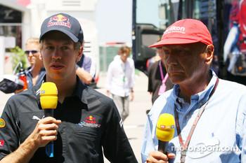 Sebastian Vettel, Red Bull Racing and Niki Lauda