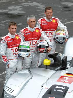 Allan McNish, Rinaldo Capello, Tom Kristensen