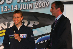 Vincent Beaumesnil, ACO Sporting Director with Sébastien Bourdais