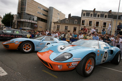 Ford GT 40 cars on display