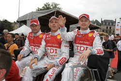 Tom Kristensen, Rinaldo Capello and Allan McNish
