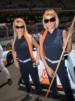 The charming Aston Martin girls