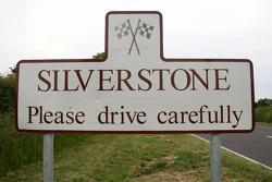 Silverstone village sign