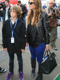 Jade Jagger, hija de Mick Jagger