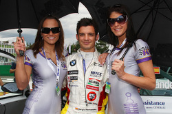 Sergio Hernandez, BMW Team Italy-Spain with girls