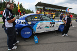 Felix Porteiro, Scuderia Proteam Motorsport, BMW 320si WTCC, République Tchèque, Brno, manche 11 et 12