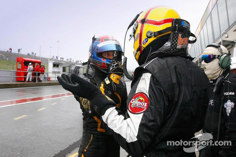 Anthony Kumpen and Stéphane Lemeret