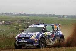 Michal Kosciuszko and Maciek Szczepaniak, Suzuki Swift S1600