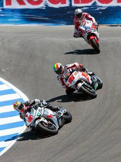 Gabor Talmacsi, Scot Racing Team MotoGP, Alex De Angelis, San Carlo Honda Gresini, Niccolo Canepa, Pramac Racing