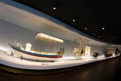 The pionners and the invention of the automobile: 1888 Daimler motorboat 'Marie' and 1888 Wölfert motorized airship