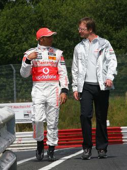 Lewis Hamilton, McLaren Mercedes celebrates 75 years of Silver Arrows