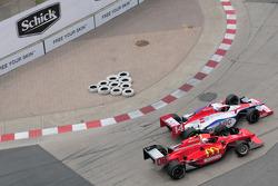 Robert Doornbos, Newman/Haas/Lanigan runs with Ryan Hunter-Reay