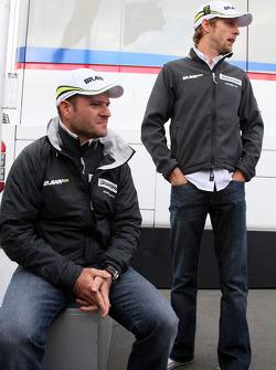 Rubens Barrichello, Brawn GP, Jenson Button, Brawn GP