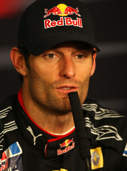 FIA press conference: race winner Mark Webber, Red Bull Racing