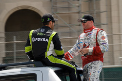 Ernesto Viso, HVM Racing, Paul Tracy, KV Racing Technology