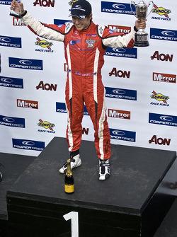 Podium: race winner Riki Christodoulou