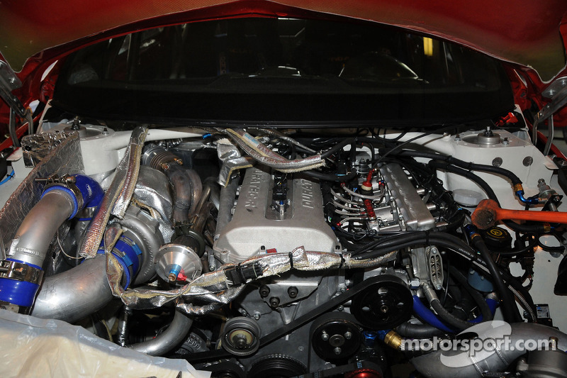 The power plant for the Pikes Peak Hillclimb Ford Fiesta