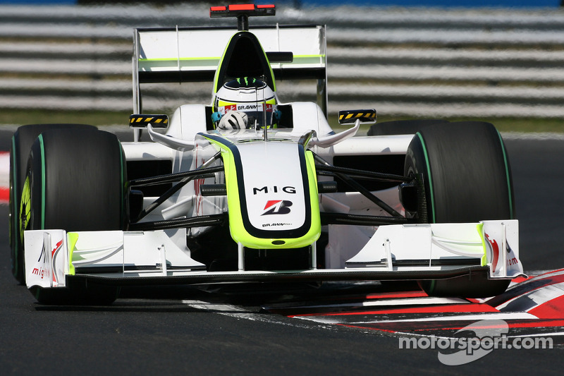 2009 - Brawn GP BGP 001 (motor Mercedes)