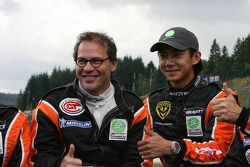 Jacques Villeneuve and Ho-Pin Tung