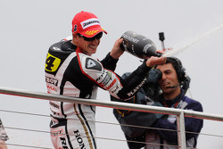 Podium: third place Randy De Puniet, LCR Honda MotoGP