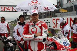 Niccolo Canepa, Pramac Racing and Mika Kallio, Pramac Racing