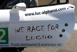 Message for Luc Alphand