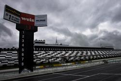 Rain delays practice