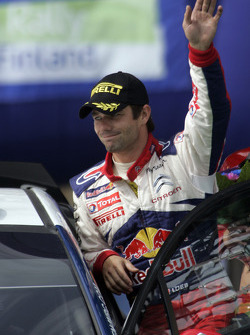 Podium: second place Sébastien Loeb