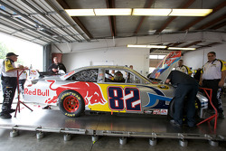 Red Bull Racing Team Toyota at technical inspection
