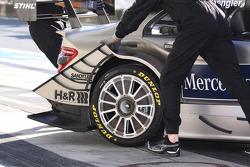 Wheel on the car of Bruno Spengler, Team HWA AMG Mercedes AMG Mercedes C-Klasse