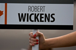 Robert Wickens grid board