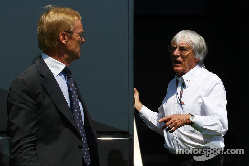 Ari Vatanen en Bernie Ecclestone