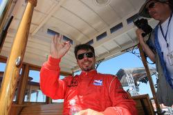 Drivers presentation: Oriol Servia, Newman/Haas/Lanigan Racing