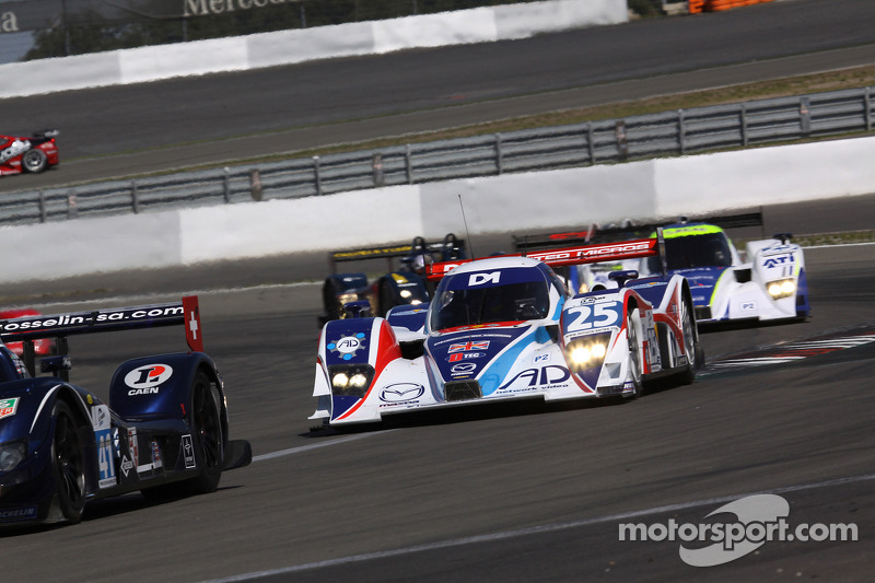 #25 RML Lola B08/80 Coupé - Mazda: Thomas Erdos, Mike Newton