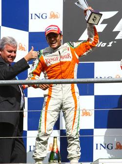 2nd, Giancarlo Fisichella, Force India F1 Team
