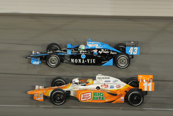 Tomas Scheckter, Dreyer & Reinbold Racing & Toni Kanaan, Andretti Green Racing
