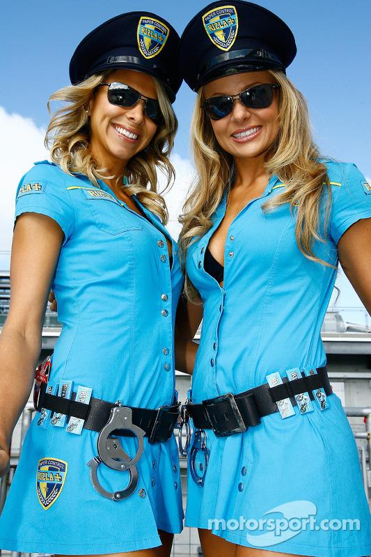 Chicas de Rizla Suzuki MotoGP